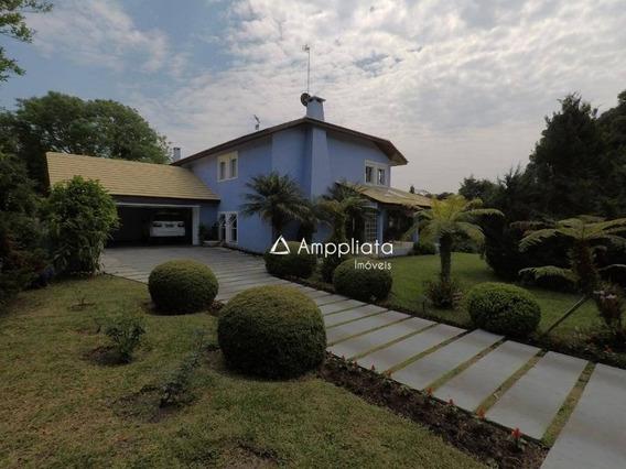 Casa À Venda, 400 M² Por R$ 1.590.000,00 - Pousada - Quatro Barras/pr - Ca0297