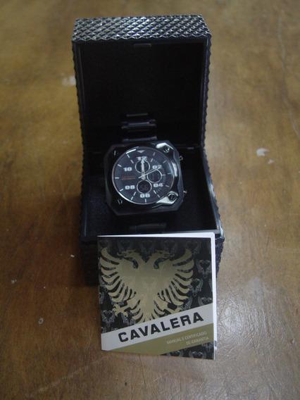 Relógio Cronógrafo Digital Masculino Cavalera