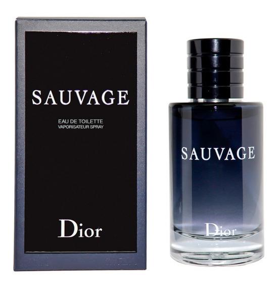 Sauvage Dior Homme Edt 100ml + Amostra - Orginal Selo Adipec