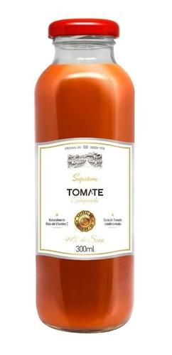 Imagem 1 de 1 de Suco De Tomate Temperado 300ml - Superbom