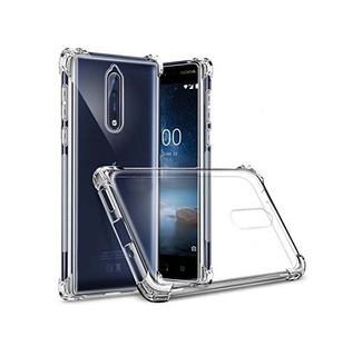 Estuche Protector Antichoque Alpha Nokia 8 - Transparente