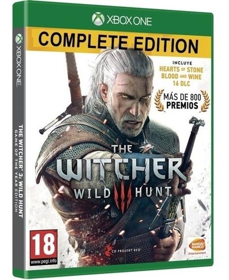 Jogo The Witcher 3 Complete Xbox One Midia Fisica Original
