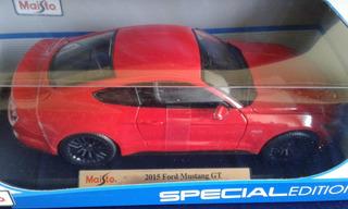 2015 Ford Mustang Gt 5.0, Escala 1:18, Una Belleza!!