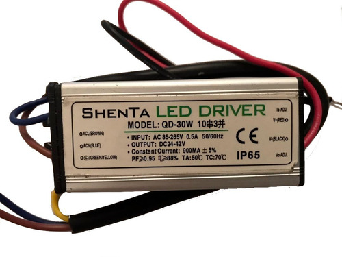 Led Driver 30w (transformador ) Reflectores Powerleds