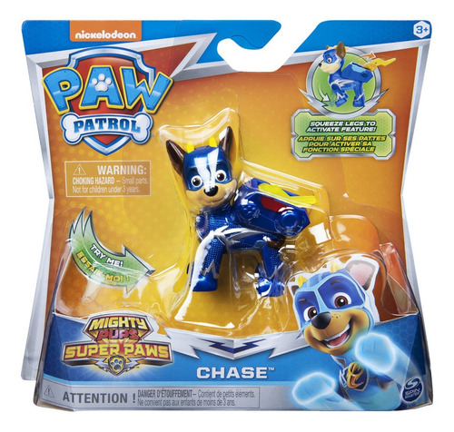 Paw Patrol Mighty Pups Cachorros Chase
