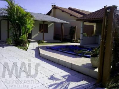 Casa A Venda Em Imbé, Mariluz, 3 Dormitórios, 1 Banheiro, 1 Vaga - Lvcl001