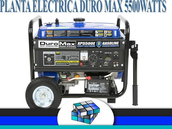 Planta Eléctrica Duromax 5500 Watts Dual (580vds)