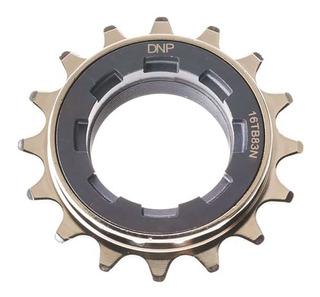 Piñón Dnp De Cromo 16 Dientes 60 Trabas Paso Fino - Ciclos