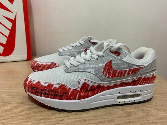 Tênis Nike Air Max 1 Sketch To Shelf /jordan Force Dunk