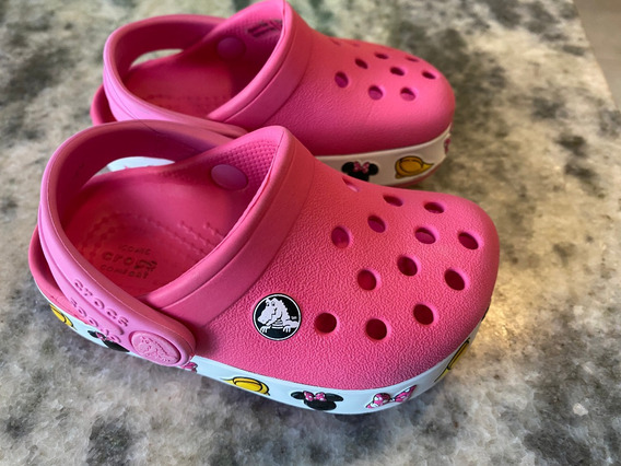 Crocs Orig - Minnie - Talle 20 (4 Usa) - Perfecto Estado