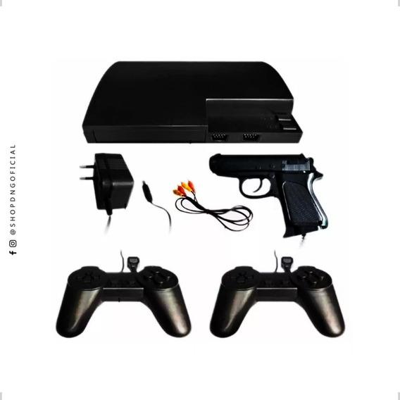 Video Game Retro Nes 999 Jogos Com 2 Controles + Arminha