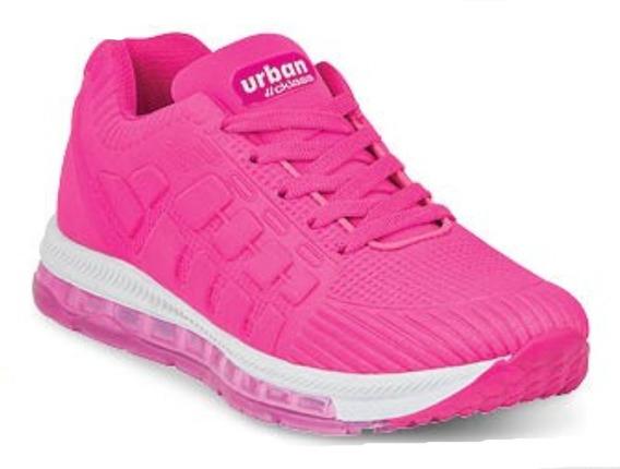 Tenis Sneakers Dama Mujer Moda Cómodo Rosa Comodo