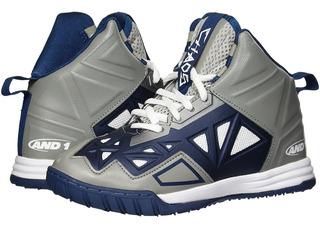Tenis Basketball Chaos Shoes And1 Streetball Nba Grey Poseid