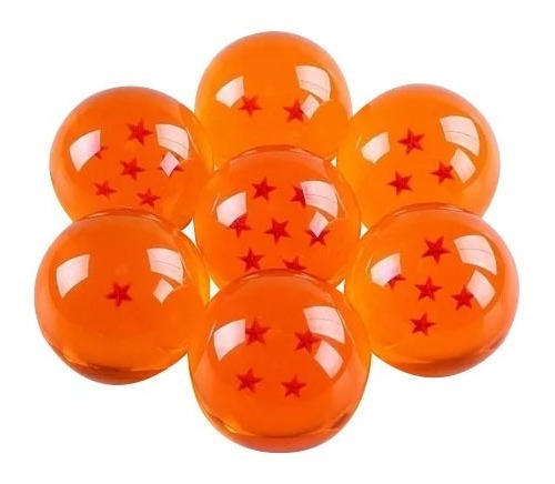 Esferas Del Dragon Gigantes Pro Dragon Ball Z 8 M Cm Set Dbz