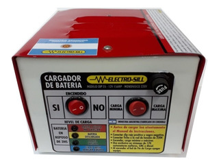 Cargador De Baterias Portatil 12v 15amp
