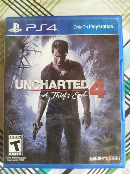 Jogo Playstation 4 Uncharted 4 A Thief