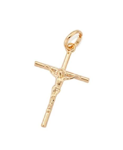 Pingente Rommanel Masculino Cruz Com Cristo 540027