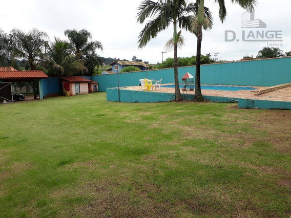 Chácara Com 2 Dormitórios À Venda, 1000 M² Por R$ 550.000 - Itapavussu - Cosmópolis/sp - Ch0343