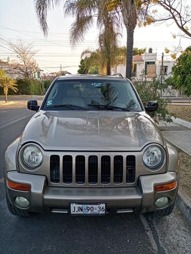 Jeep Liberty Renegabe Piel Cd Abs Qc 4x4 At 2003