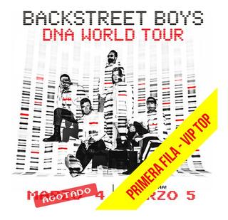 Entrada Backstreet Boys - Vip Top - Primera Fila!!!