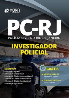 Apostila Concurso Pc Rj 2020 Investigador Policial