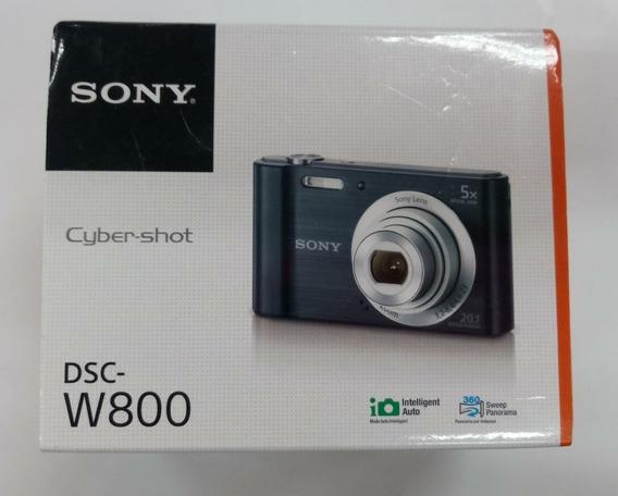 Câmera Sony Dsc-w800 Prata