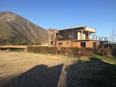 Oficina Con 2 Galpones En 10.000 M2 De Terreno, Lonquen Sur (recepcion Final)