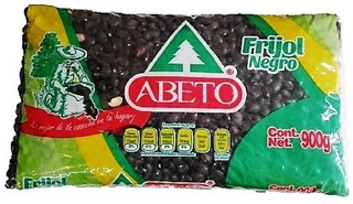 Frijol Negro Marca Abeto Bolsa De 1kg