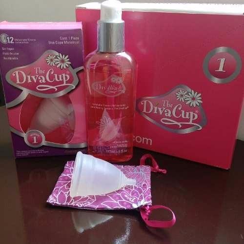Copa Menstrual Divacup Modelo 1 Divawash Diva Cup