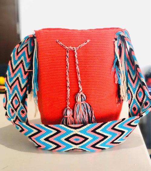 Bolsas Wayuu Varios Colores