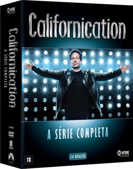 14 Dvd Coleção Californication Série Completa - Lacrado