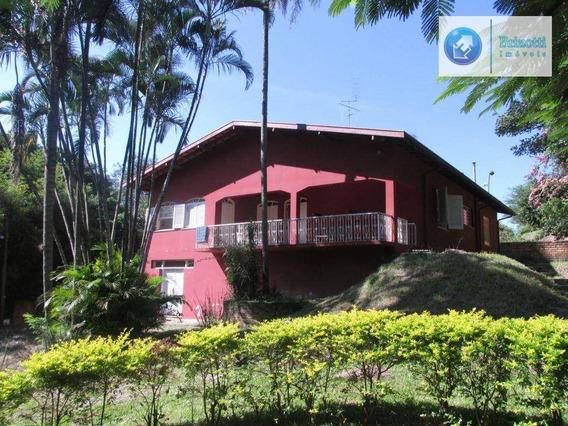 Chácara À Venda, Parque Jatibaia (sousas), Campinas. - Ch0035