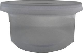 10u Pote Envase Plastico 200ml 8.8x4cm Cn Tapa E1017