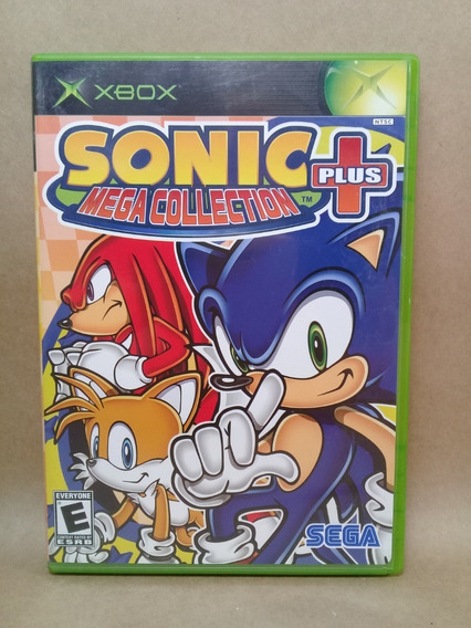 Sonic Mega Collection Plus+ Xbox Clássico Original