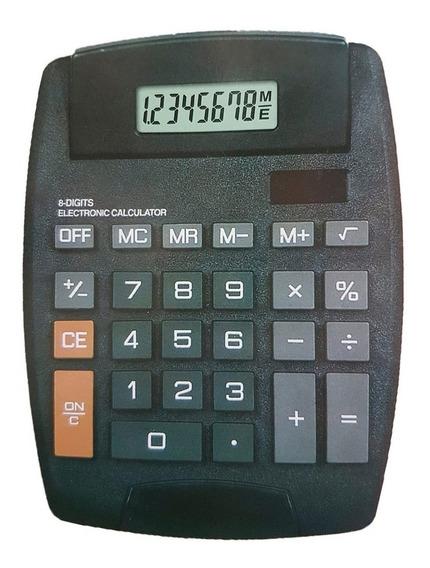 Calculadora 8 Digitos Display Grande Ajustable Ramos Mejia