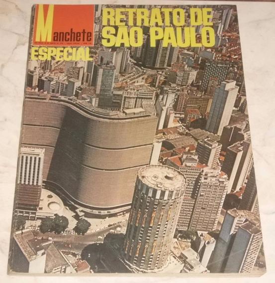 Revista Manchete Especial - 1970 - Retrato De São Paulo