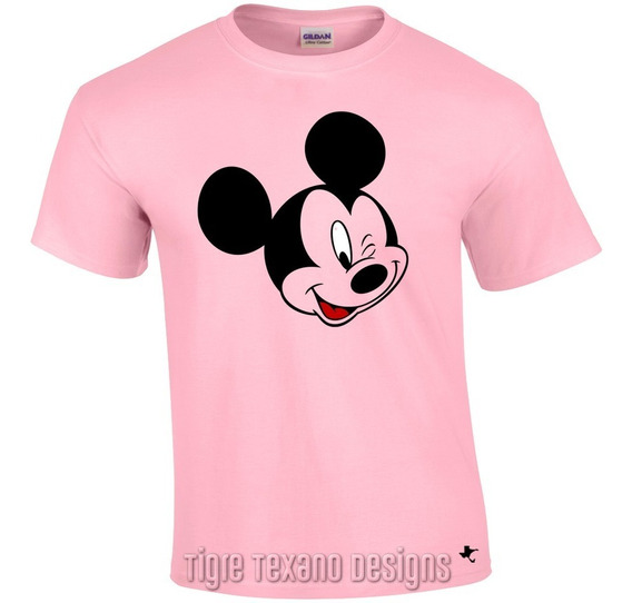 Playera Dibujo Animado Mickey Mouse M.3 Tigre Texano Designs