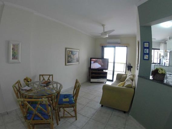 Apartamento Próximo À Praia Com 1 Dormitório Para Alugar, 55 M² Por R$ 1.600/mês - Aviação - Praia Grande/sp - Ap3251