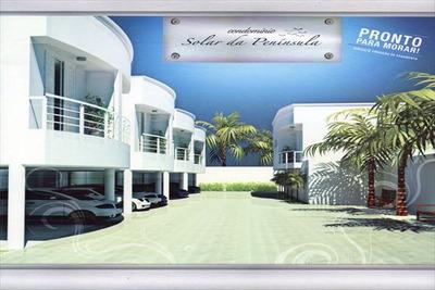 Ref.: 1056 - Casa Condomínio Fechado Em Guaruja, No Bairro Loteamento Joao Batista Juliao - 4 Dormitórios