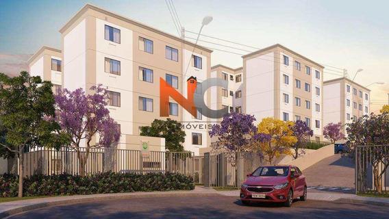 Apartamento Com 2 Dorms, Cerâmica, Nova Iguaçu - R$ 133 Mil, Cod: 678 - V678