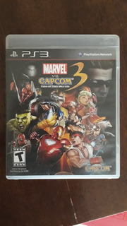 Marvel Vs Capcon 3 Fate Of Two Worlds Ps3 Fisico