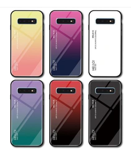Forro Estuche Funda Lujo Samsung Galaxy S10 S10 E S10 Plus