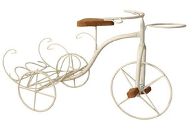 Bicicleta Decorativa Para Jardim 61x39cm