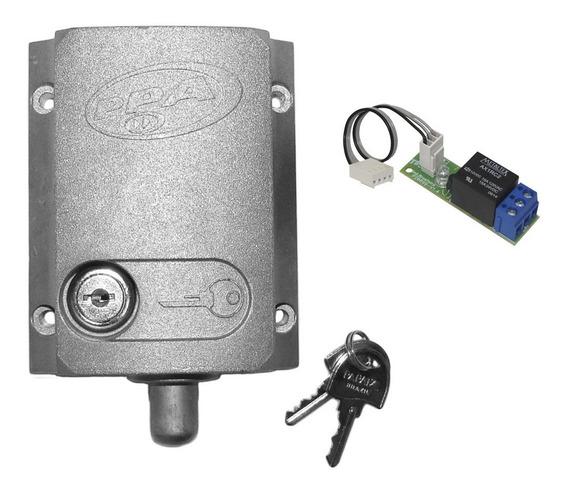 Trava Elétrica Dog Ppa C/modulo Relé P/portão Eletrônico 220