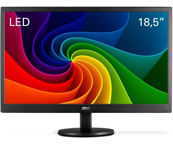 Monitor Led Tela De 18.5 Widescreen Aoc E970swnl