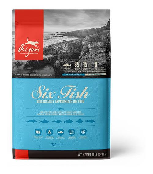 Alimento Para Perro Orijen Six Fish 5.9 Kg