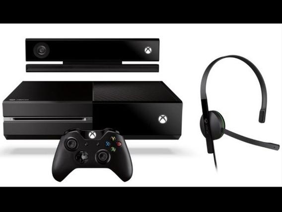 Console Xbox One 500gb + Kinect Um Controle
