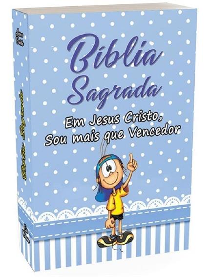 Bíblia Infantil - Completa - Especial Para Crianças - Menino