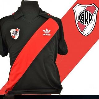 Camisa Retrô River Plate Preta +(frete Grátis)