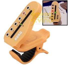 Afinador Korg Ht G1 Violão Guitarra Digital Cromático Clip